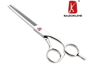 China 5.5 Size Mirror Polish Stainless Steel Hair Thinner Scissors / Professional Hair Shears on sale