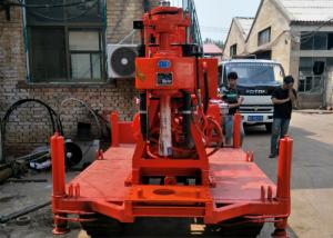 China Crawler Mounted Drill Rig 300m Depth For Building Construction on sale