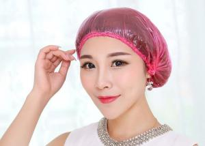 China Hospital Disposable Surgical Caps , Reusable Hotel Shampoo Shower Cap Dustproof on sale