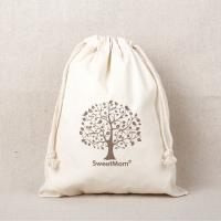 eco-friendly cotton canvas drawstring bags personalized logo promotional gifts