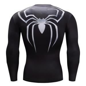 China Digital Printing Long Sleeve Workout Shirts Mens Breathable Featuring on sale