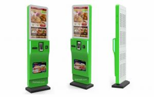 China Self Ordering Kiosk with POS Terminal/ Restaurant/Store, Fast Food Order Kiosk, Easy Operate,Save your labor cost on sale