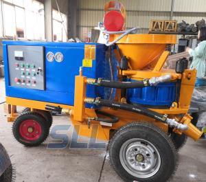 China Less Dust Wet Shotcrete Equipment , Electric Type Concrete Cement Sprayer on sale