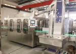 Aluminum Cap 330ml Glass Bottle Beverage Juice Filling And Sealing Machine 4.23KW