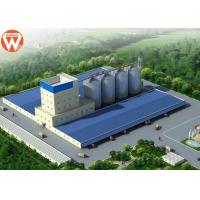 Supply 20T/H Animal Feed Production Line With Raw Materials Silo
