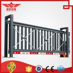 China Puerta de desplazamiento industrial del muelle de puerta de la puerta de la calzada de la aleación de aluminio L1504 on sale