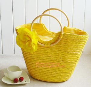 China Summer New Fashion Straw Bag Designers Brand Women Handbag High-Capacity Women Handbag on sale