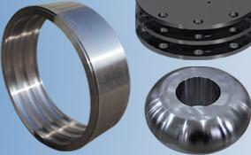 China Rolo e forro verticais compostos altos cerâmicos feitos à máquina girados de gerencio fazendo à máquina de moedura de mil. do rolo do CNC Chrome on sale