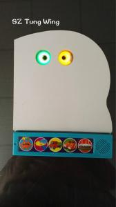 China Funny Monster 5 Push Button Sound Module With 2 LED for baby musical book on sale