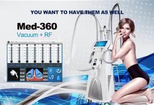 China 690 nm LED Vacuum Roller LPG + RF Slimming Machine With RF Power 50 Watt 13.6 MHz on sale