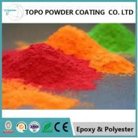 China Copper Effect Decorative Powder Coating RAL 1007 Color Metallic Texture on sale