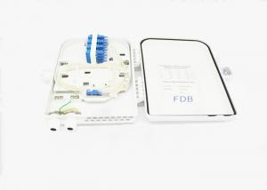 China FDB FTTH 16 Cores Fiber Splitter Distribution Box Outdoor PLC Wall Mounted on sale