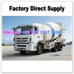 LHD & RHD 6x4 Tri-Ring 375HP 8--12CBM concrete cement mixer truck for Africa
