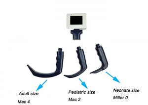 China Mac Blade Intubation?Portable Video Laryngoscope Disposable Blade?With Fiber Optic on sale