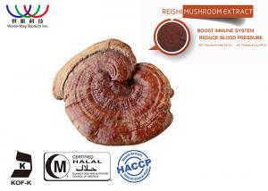 China Water Soluble Reishi Mushroom Extract Powder Polysaccharides For Pharmaceutical on sale