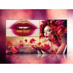 Advertising Display Seamless Video Wall Lcd Monitors , Indoor Lcd Wall Display