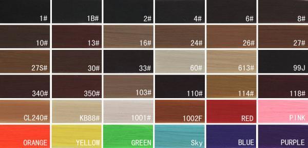 Dark Brown Real Human Natural Hair Color Chart For Black Images