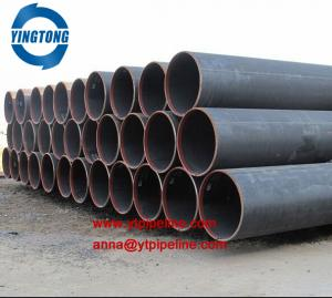 China ERW / LSAW spiral welded steel pipe from China manufacturer on sale