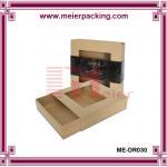 Custom album packaging box, kraft paper clothing box ME-DR030