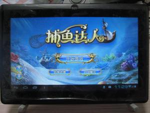 China 7  Full touch panel Android scroll tablet pc notebook computer CPU BOXCHIP A10, 1.2G on sale