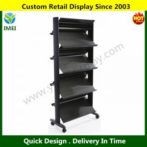 China Portable Double Sided Magazine Rack  YM6-017 on sale