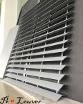 Exterior louver, Privacy Louver Screen, Aluminum panel louver