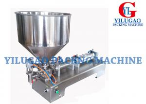 China Semi-automatic High Viscosity Cream Paste / Liquid Filling Machine on sale