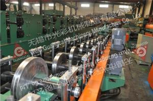 China Metal Cable Tray Production Line / Cable Tray Manufacturing Machine Cold Forming on sale