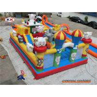 Inflatable indoor bouncy castle With Fire Resistant Pvc Bouncer Funland