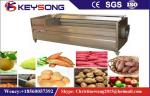 Carrot Peeling Fruit And Vegetable Processing Machinery 380v / 50hz Steady Performance