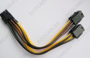 China Power Connection Electrical Wire Harness , PVC Electric Fan Wiring Looms on sale