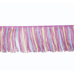 China 4 Grade Polyester 12cm Women Dress Tassel Fringe Trim on sale