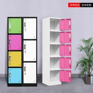 China 380mm Width 1850mm Height Stainless Steel Lockers on sale