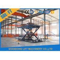 3T 3M Hydraulic Scissor Car Lift For Home Garage Villa Basement Car Parking Lift