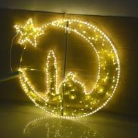 led star and moon lights