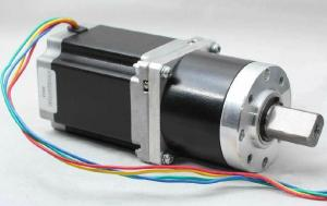 China Cnc router Gearbox Stepper Motor 8 Lead , NEMA 23 with 6250 oz-in on sale