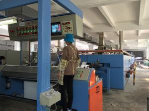 China Anti Rust UV Coating Machine With Heated Air Circulation Drying Chamber on sale