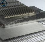 Food Filtration Welded Wedge Wire Screen Durable 304L / 304L / 316L Grade