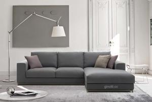 Merveilleux Quality Modular Corner Sofa , Elegant Design Gren Fabric Sofas , Feather  Cushion L For Sale ...