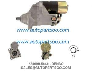 China 228000-5641, 228000-5640 - IVECO Starter Motor 24V 4.5KW 10T MOTORES DE ARRANQUE on sale