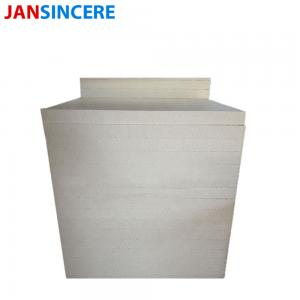 China Polycrystalline Mullite Oven Refractory Insulation Board Strong Bending Strength on sale