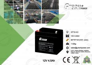 China Valve Regulated Sealed Lead Acid Battery 12v For Alarm System on sale