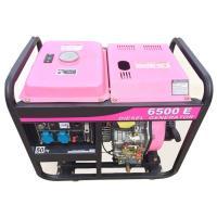 Air Cooled Diesel Small Portable Generators Set 5kva 6kva 220v - 690v