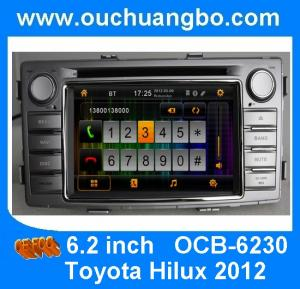China Car gps systems TV bluetooth iPod for Toyota Hilux 2012 with 3D rotating user interface OCB-6230 on sale