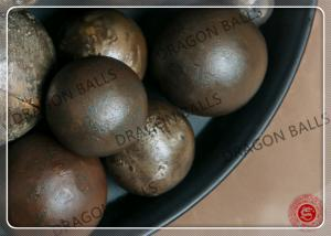 China Mining Cast Iron Grinding Balls 40mm , Grinding Media For Cement Mill on sale