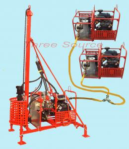 China Hydraulic portable drilling rig on sale