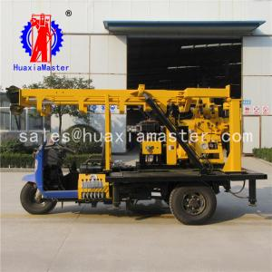 China HuaxiaMaster supply tricycle-mounted XYC-200A core drilling machine  hydraulic rotary 100m-200m drilling machine on sale