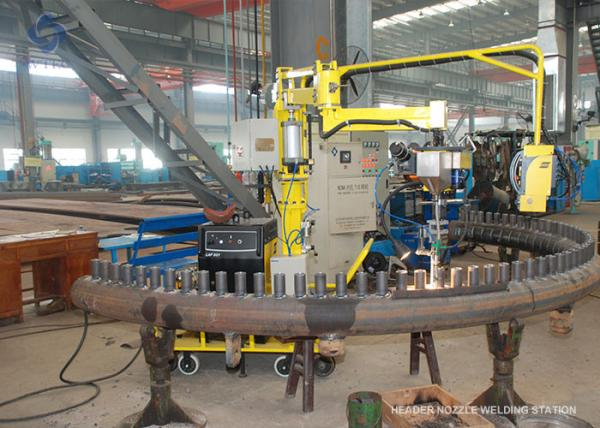 Header Nozzle Welding Machine TIG Welding Inside And Fine