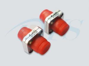China 300Mw Optical Power FC Red Fiber Optic Attenuator For CATV Systems on sale