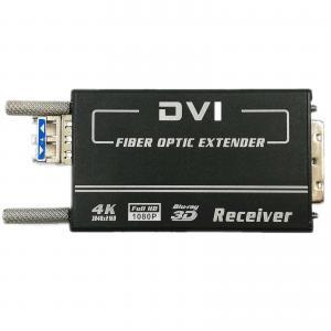 Quality 1.4km EDID Manual DVI Video To Fiber Converter Mini 4K X 2K Single Mode 2 Years for sale